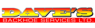 Dave's Backhoe Services Ltd.